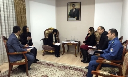 Meeting of representatives of the Customs Service under the Government of the Republic of ...